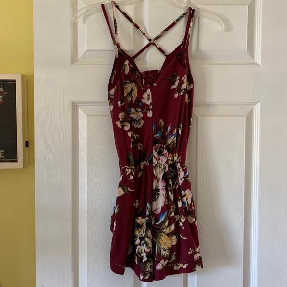 Windsor Pants - Floral romper